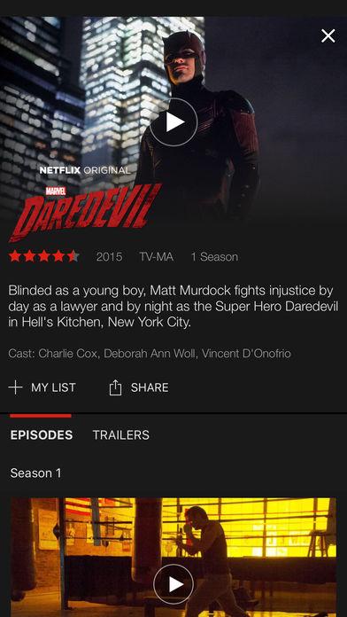 Netflix app 5