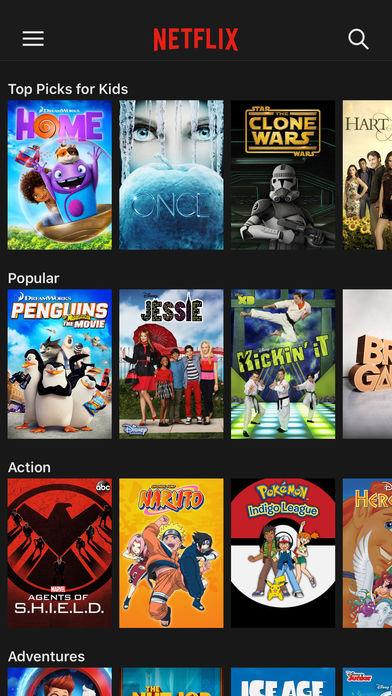 Netflix app 7