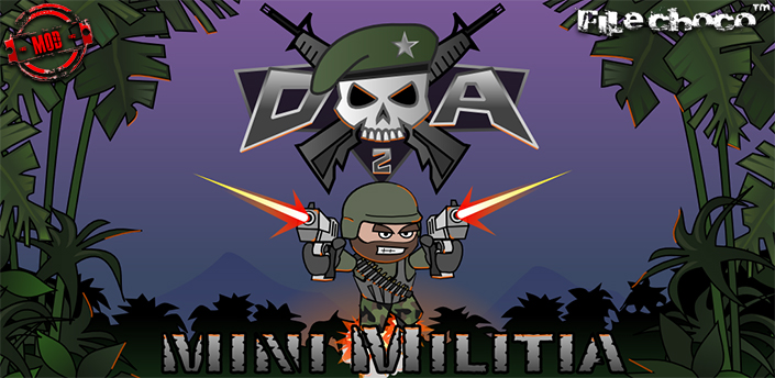 تحميل Doodle Army 2: Mini Militia شبكة