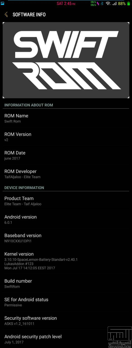 Swift Rom v2 A5 Galaxy S8 Rom for Galaxy Note 4 Mohamedovic 10