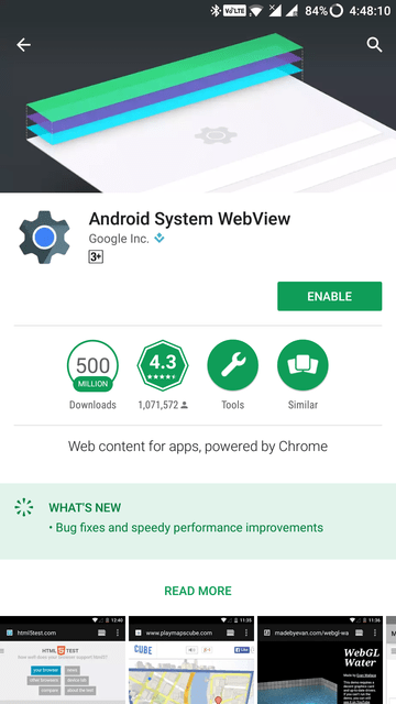 Android System Webview Mohamedovic