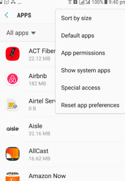 Fix Screen Overlay Detected Issue for Samsung Mohamedovic 02