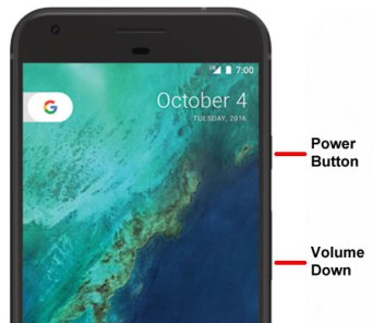 Google Pixel Nexus Recovery Mode Mohamedovic