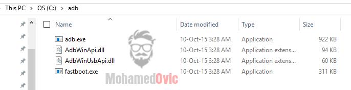 ADB Folder Windows Mohamedovic