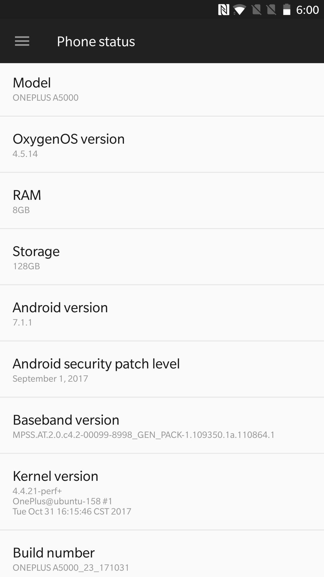 OnePlus 5 Firmware Version Mohamedovic 02
