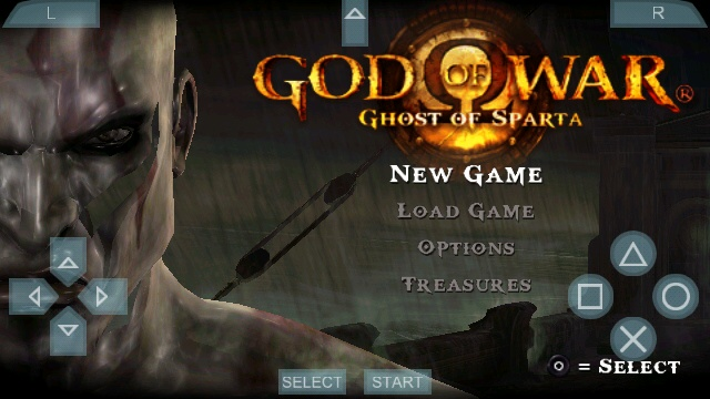 God Of War on Android Emulator Mohamedovic