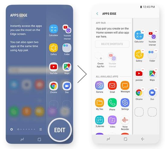Samsung Galaxy S9 EDGE App Mohamedovic