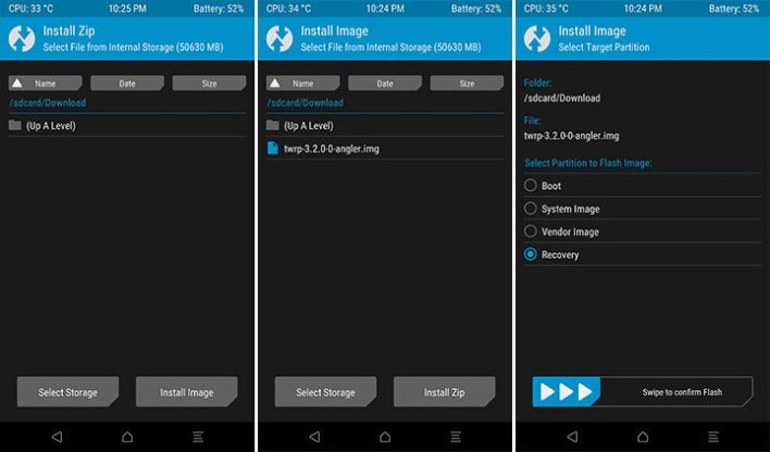 Update TWRP Recovery on Android Devices