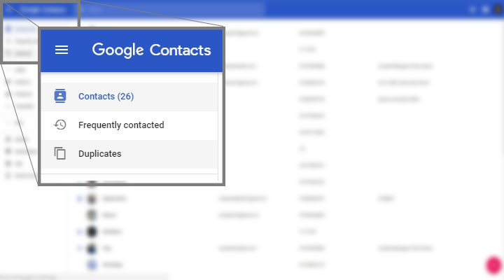 Merge Duplicate Contacts using Web Google contacts Mohamedovic 01