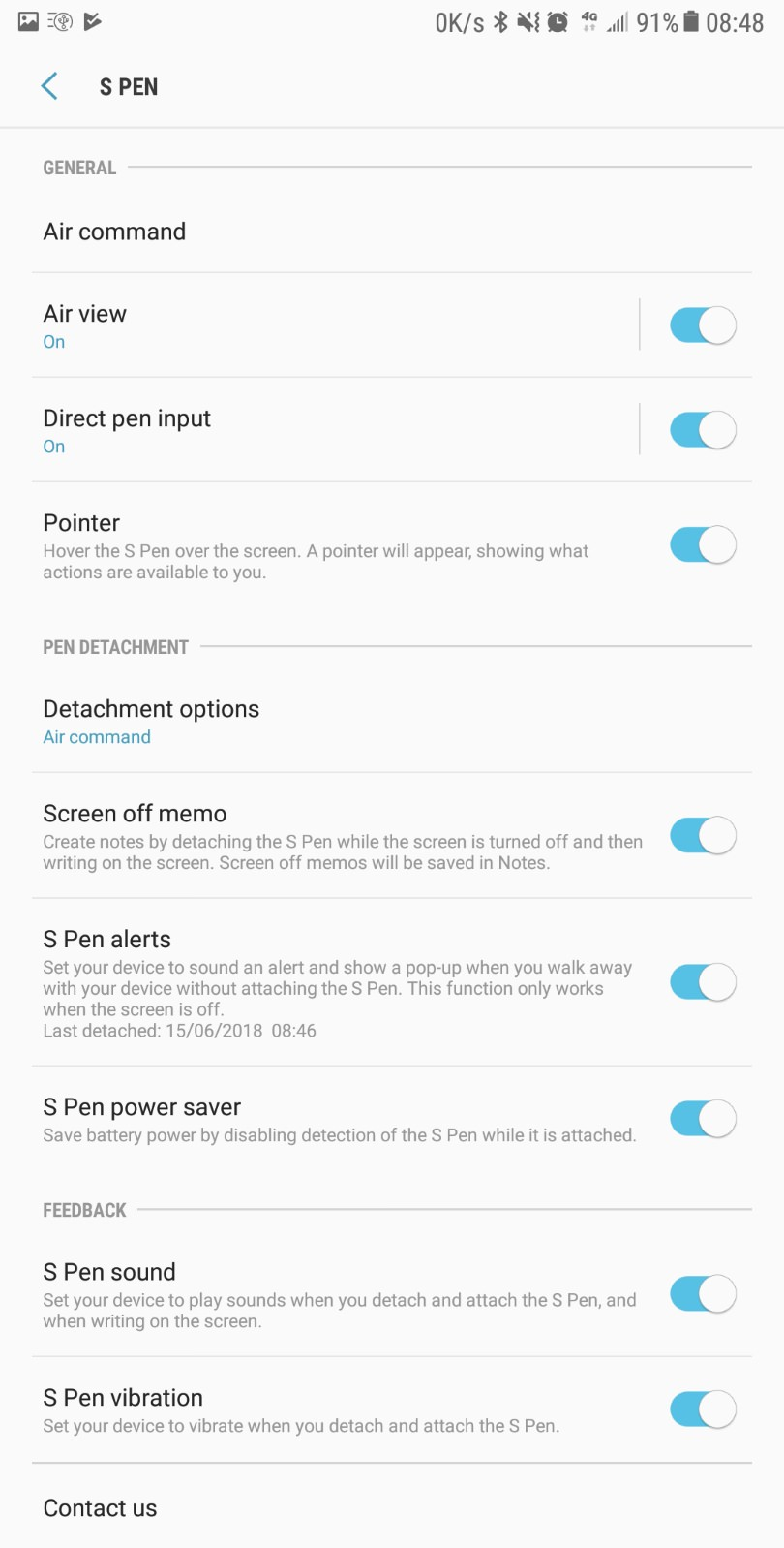 Refined Nougat 7.0 ROM Note 7 FE Port for Galaxy Note 4 Mohamedovic 11
