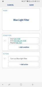 Routines app in Samsung Good Lock 2018 Mohamedovic 01