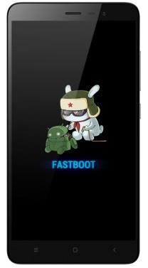 Enter Mi A1 Fastboot Mode