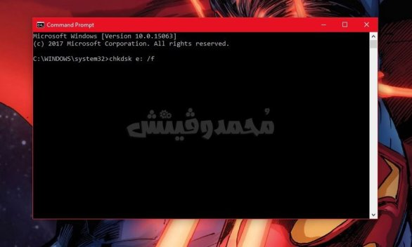 Fix Corrupted MicroSD issue with CHKDSK Command Mohamedovic