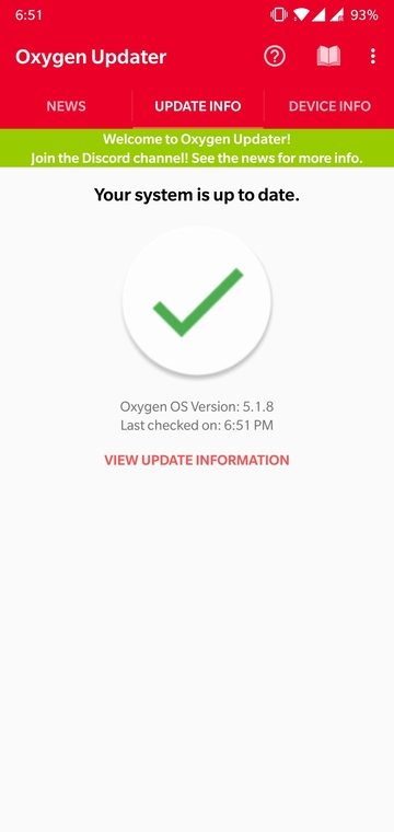 Instant OnePlus Firmware Updates with Oxygen Updater Mohamedovic 04