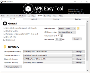Decompile APK Files using APK Easy Tool Mohamedovic 02