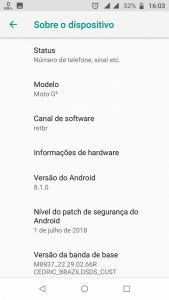 Moto G5 Oreo 8.1 Official Firmware update Mohamedovic 03