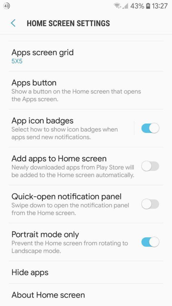 Samsung Galaxy Note 9 TouchWiz Home App Mohamedovic 06