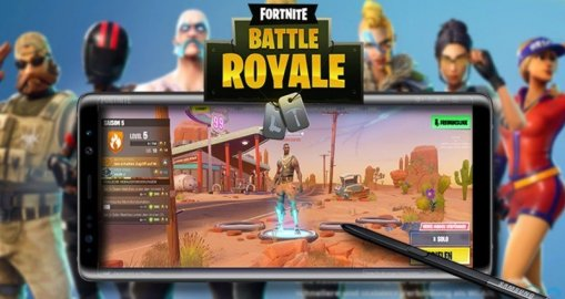 Samsung Galaxy Note 9 with Exclusive Fortnite