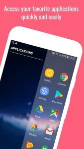 Get Galaxy Note 9 Edge Screen via Action Edge App Mohamedovic 01
