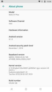 Moto G4 Android Oreo Official Firmware Update Mohamedovic 03