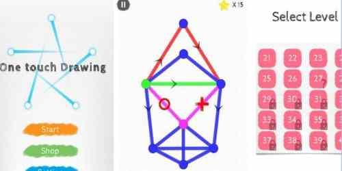 لعبة One Touch Drawing - 1Line