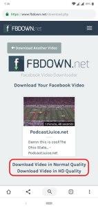 شرح كيفية تحميل فيديوهات الفيسبوك على جهازك الاندرويد مباشرةً 7