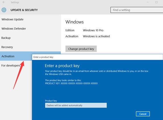 Activate Windows 10 Pro 03