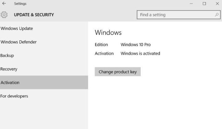 Activate Windows 10 Pro 04