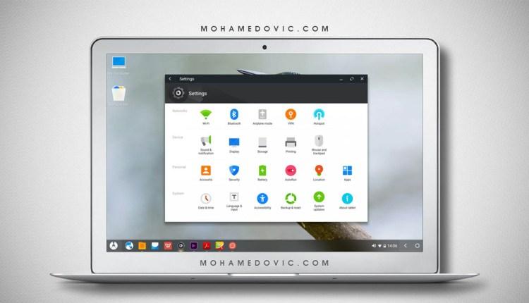 تثبيت Phoenix OS نظام اندرويد للكمبيوتر
