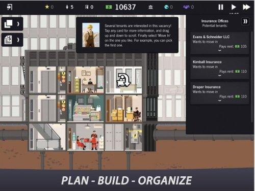 لعبة Project Highrise apk للاندرويد