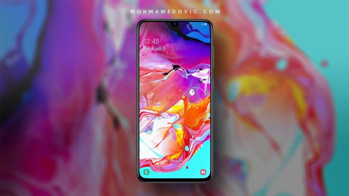 تحميل خلفيات سامسونج Galaxy A70 A80 الرسمية 15 صور بدقة Fhd