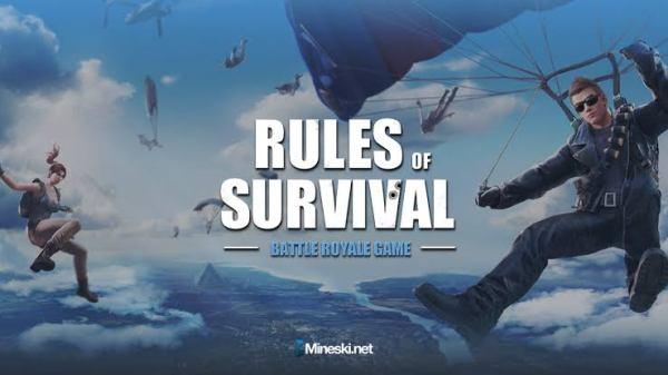 لعبة Rules of Survival apk 2019