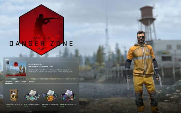 لعبة CS:GO-Danger Zone exe 2019