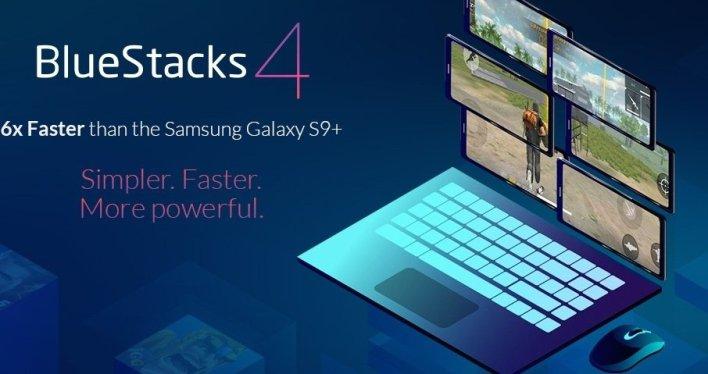 محاكي بلوستاكس 4 أسرع من 6 هواتف جالكسي S9