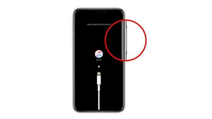 كيفية الخروج من وضع الأيتونز في هاتف ايفون X