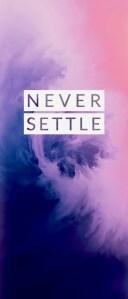 OnePlus 7 Pro Never Settle Wallpapers Mohamedovic 01