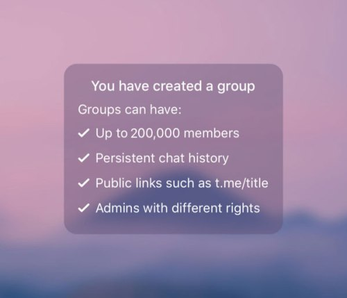 Telegram Unified Group Settings