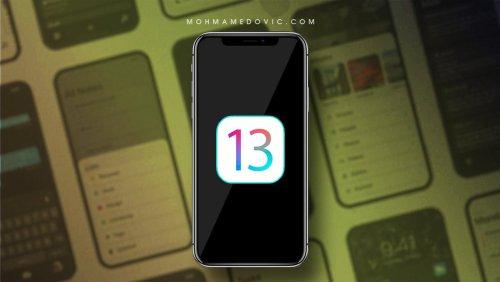 تحديث iOS 13