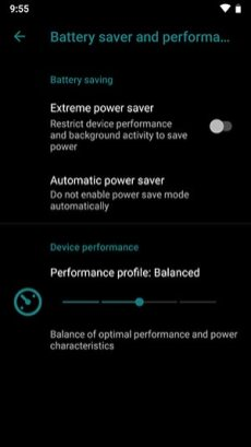 LineageOS-16-Device-Settings-Battery-Saver-and-Performance