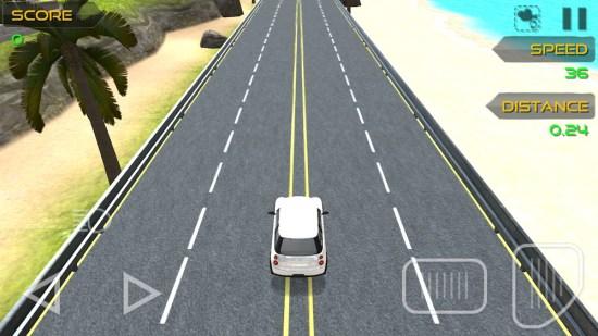 لعبة Traffic Racing Simulator 3D للاندرويد