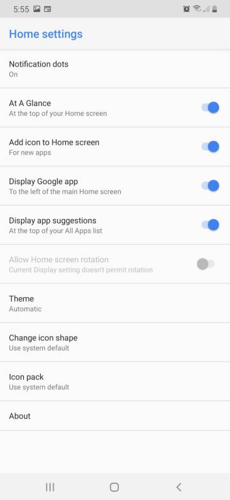 Android Q Pixel Launcher Mohamedovic 03