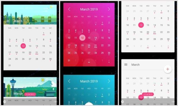 تطبيق Widget Month
