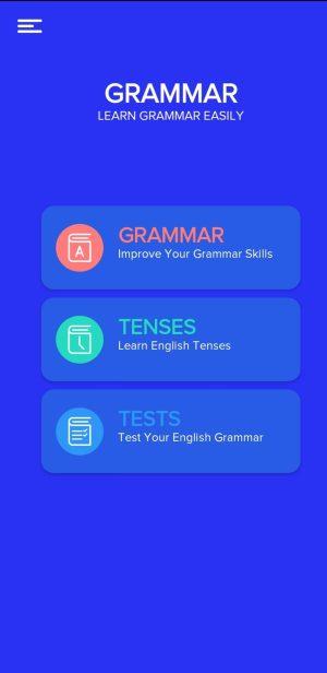 تطبيق English Grammar