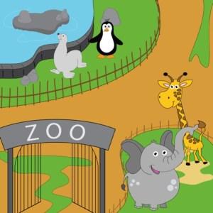 تطبيق Trip to the zoo for kids أحد ألعاب تعليمية للأطفال