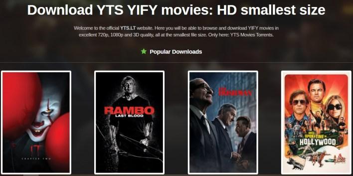 موقع YTS.lt