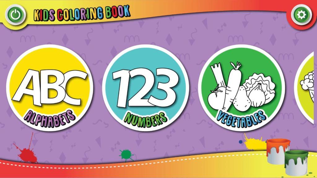 Kids Coloring Book : Coloring Fun