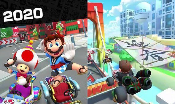 افضل العاب الاندرويد - Mario Kart Tour