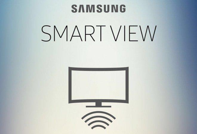 تشغيل الجوال على شاشة سامسونج بواسطة Air View