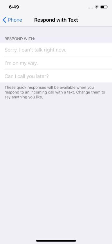 تغيير اعدادات المكالمات في الايفون