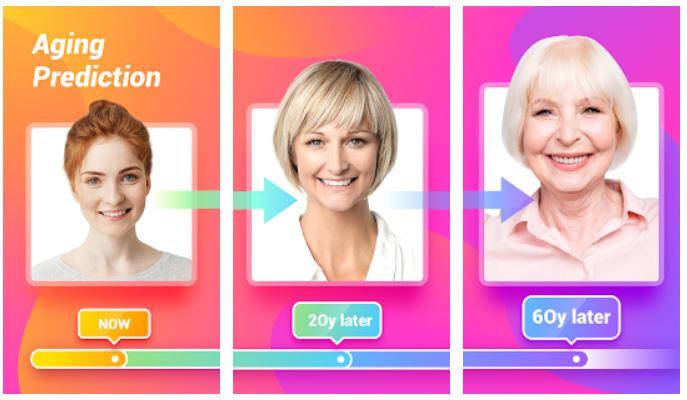 Agingbooth age Progression app